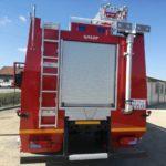 MART 2018. – Isporučeno vatrogasno vozilo za Ministarstvo odbrane Republike Srbije