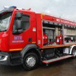 SEPTEMBAR 2020. – Isporučeno vatrogasno vozilo za kompaniju MEI TA Europe iz Bariča